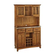 "Home Styles 72.2"" Solid hardwood Buffet Server & Hutch"