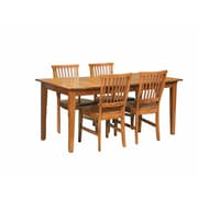 Home Styles Art & Crafts Dining Set Cottage Oak Finish 5 Piece