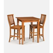 Home Styles Arts & Crafts Hardwood Solids  Bistro Set