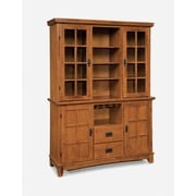 "Home Styles 76"" Solid Hardwoods Buffet and Hutch"