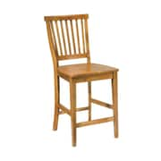 """Home Styles Arts and Crafts 24"""" Counter Stool Wood Side Chairs"""