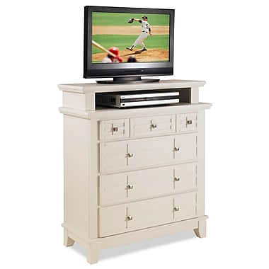 Home Styles Arts & Crafts Wood TV Media Chest