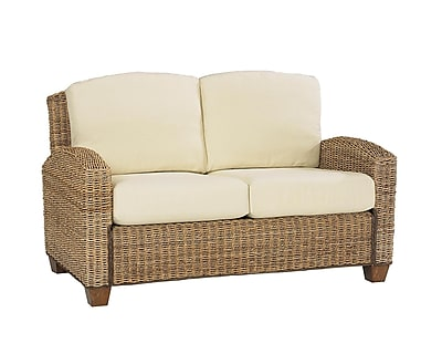 Home Styles Cabana Banana Wood Love Seat