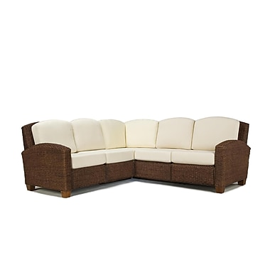 Home Styles Cabana Banana L-Shaped Sectional Sofa