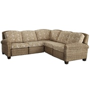 "Home Styles Cabana Banana Mahogany Solids & Plywood ll ""L"" Sofa"