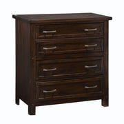 Home Styles Cabin Creek Mahogany Solids and Veneers Drawer Chest
