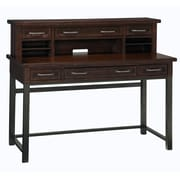 "Home Styles 43"" Poplar Solids and Mahogany Veneers Expanding Desk With Hutch"