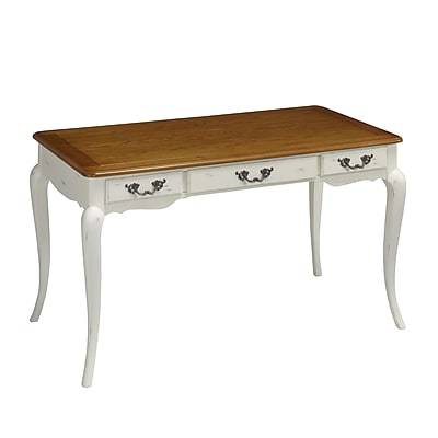 Home Styles The French Countryside Executive Desk, Distressed Oak (5518-15)