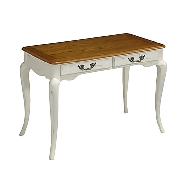 Home Styles French Countryside Poplar Solids and Engineered Wood Student Desk