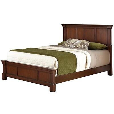 Home Styles Queen Mahogany Solids & Cherry Veneers Bed