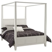 "Home Styles 60.2"" Hardwood Solids Naples Canopy Bed, Queen"