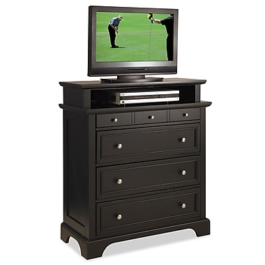 Home Styles Bedford Hardwood TV Media Chest
