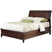 Home Styles Queen Wood Sleigh Bed