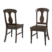 Home Styles Bermuda Mahogany, Wood Dining Chair