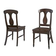 Home Styles Bermuda Mahogany, Wood Dining Chair