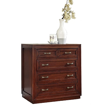Home Styles Duet Mahogany Solids & Veneers Drawer Chest