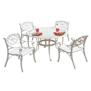 "Home Styles 30""H Aluminum Dining Set"