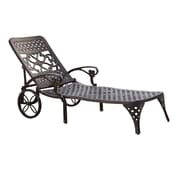 Home Styles Biscayne Stainless steel Chaise Lounge Chair
