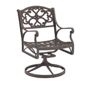Home Styles Outdoor Swivel Cast Aluminum Dining Chair