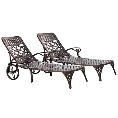Home Styles Biscayne Chaise Lounge Chairs