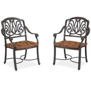 Home Styles Floral Blossom Dining Chairs with Cushion