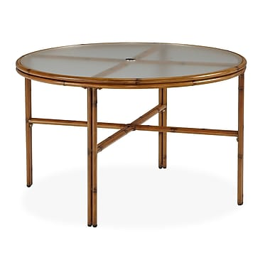 Home Styles Acrylic Round Dining Table