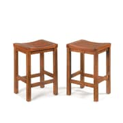 Home Styles Backless Wood Counter Stool
