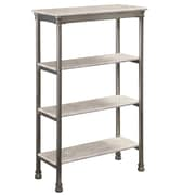 Home Styles The Orleans 4-Tier Steel Shelf