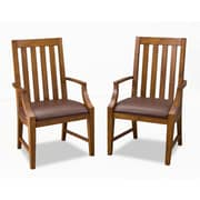 Home Styles Arts and Crafts Asian Hardwood Solids and Oak Veneers Game Chairs