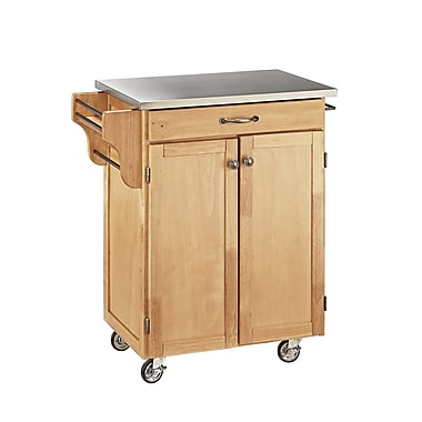 Home Styles Solid Wood & Asian Hardwood Cuisine Cart