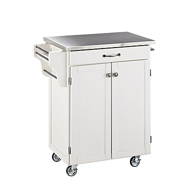 Home Styles Solid Wood Create-a-Cart Cuisine Cart