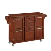 "Home Styles 35.5"" Solid Wood Kitchen Cart"