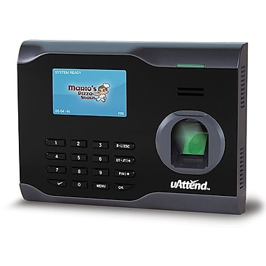 uAttend BN6000SC Fingerprint Internet Ready Time Clock
