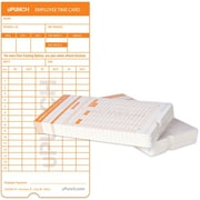uPunch HNTC1100 Time Cards