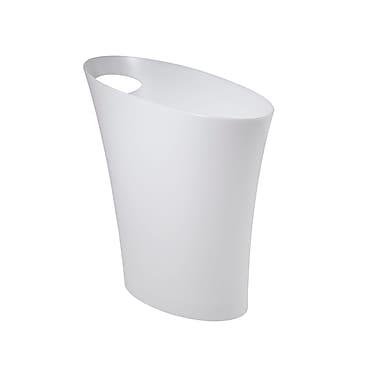 Umbra Skinny Can, Metallic White, 3/Pack