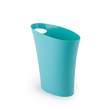 Umbra - Poubelle Skinny, bleu surf, 3/pqt