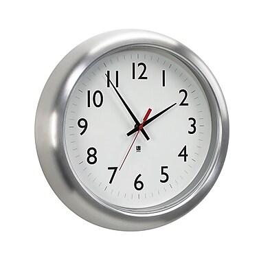Umbra – Horloge murale Station en aluminium