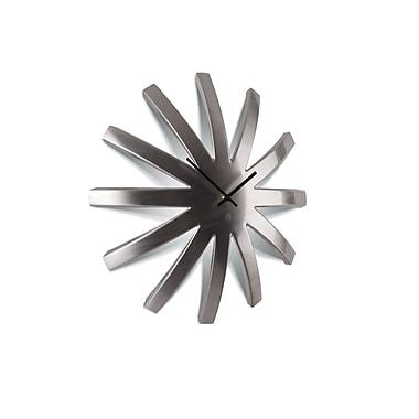Umbra Burst Metal Clock, Nickel