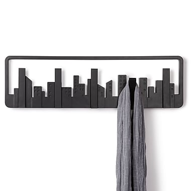 Umbra – Portemanteau Skyline à crochets multiples, noir