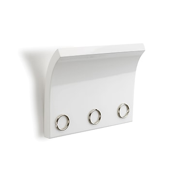 Umbra Magnetter Key and Letter Holder, High-Gloss, White