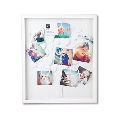 Umbra – Cadre pour photos de type boîte Lovetree, blanc