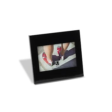 Umbra – Cadre simple, 4 x 6 po, fini lustré, noir, paquet de 3