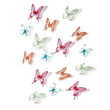 Umbra Chrysalis Wall Decor, Set of 15, Assorted