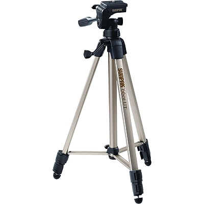 "Image of """"""Sunpak 6601UT 58.32"""""""" Floor Standing Video/Photo Tripod, Champagne"""""""