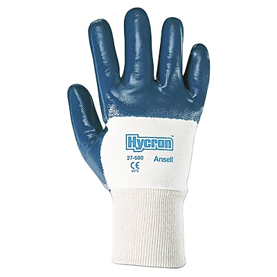 Ansell® Metalist® Nitrile Coated Gloves, Brown, Size 10 (012-28-507-10)