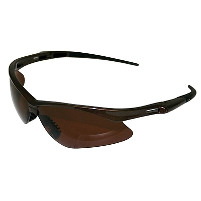 Jackson Safety® V30 Nemesis Polarized Safety Eyewear, Gun Metal