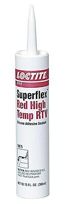 Loctite® Superflex® High Temp RTV Silicone Adhesive Sealant, 300 ml Cartridge