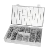 Masterkit Zinc Plated Cotter Pin Assortment