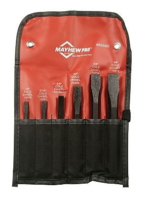Wright Tool Mayhew™ 6 Piece Cold Chisel Kit