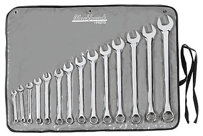 Blackhawk® 14 Piece Sae Polished Combination Wrench Set